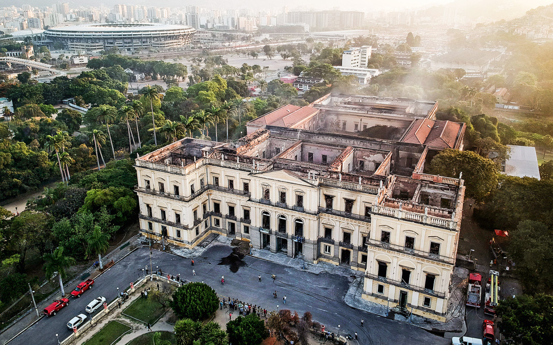 Google disponibiliza tour virtual pelo Museu Nacional antes do incêndio
